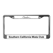 Cute Promotion License Plate Frame