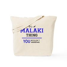 Cute Malaki Tote Bag