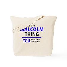 Unique Malcolm Tote Bag