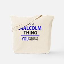 Cool A. malcolm Tote Bag