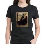Mom's Rottweiler Women's Dark T-Shirt