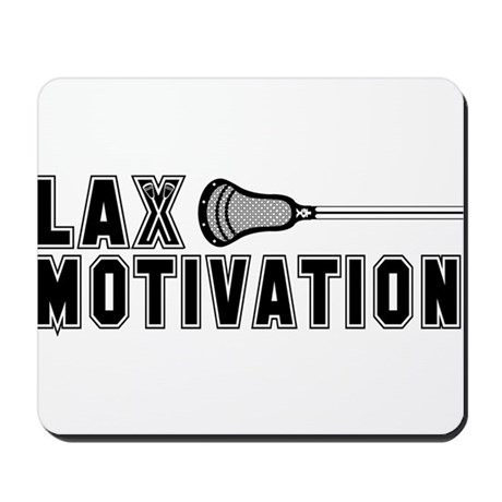 Lacrosse Motivation Mousepad