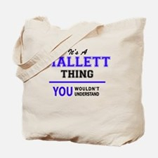 Mallett Tote Bag