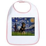 Starry Night Rottweiler Bib
