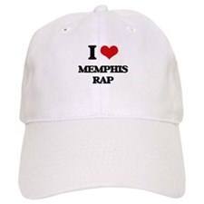 I Love MEMPHIS RAP Baseball Cap