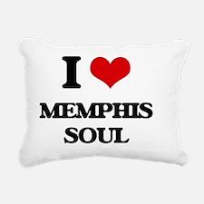 Unique Memphis radio Rectangular Canvas Pillow