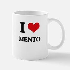 I Love MENTO Mugs
