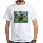 Bridge / Rottie White T-Shirt