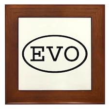 EVO Oval Framed Tile
