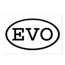 EVO Oval Postcards (Package of 8)