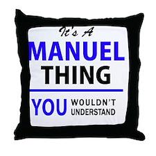 Cute Manuel Throw Pillow