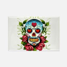 Day of the Dead Skull Magnets