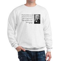 Ralph Waldo Emerson 11 Sweatshirt