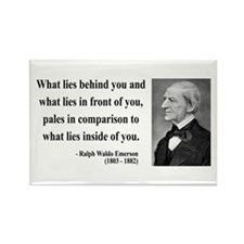 Ralph Waldo Emerson 11 Rectangle Magnet