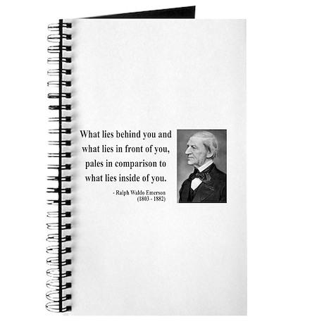 Ralph Waldo Emerson 11 Journal