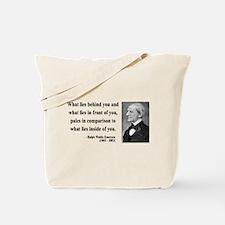 Ralph Waldo Emerson 11 Tote Bag