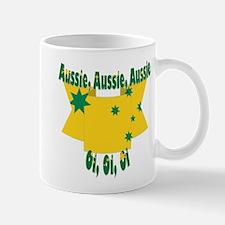Aussie flag ribbon Mug
