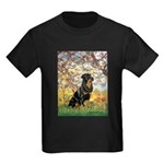 Spring / Rottweiler Kids Dark T-Shirt