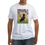 Spring / Rottweiler Fitted T-Shirt