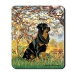 Spring / Rottweiler Mousepad