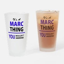 Cute Marc Drinking Glass
