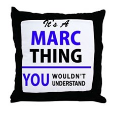 Unique Marc Throw Pillow
