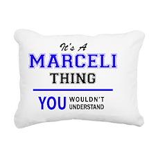 Cute Marc Rectangular Canvas Pillow