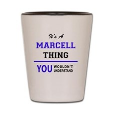 Unique Marcel Shot Glass