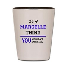 Cute Marcel Shot Glass