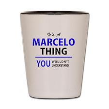 Cute Marcelo Shot Glass