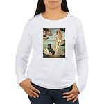 Venus & Rottweiler Women's Long Sleeve T-Shirt