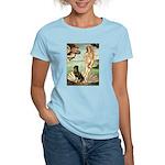 Venus & Rottweiler Women's Light T-Shirt