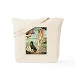 Venus & Rottweiler Tote Bag