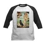 Venus & Rottweiler Kids Baseball Jersey