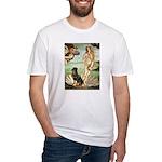Venus & Rottweiler Fitted T-Shirt