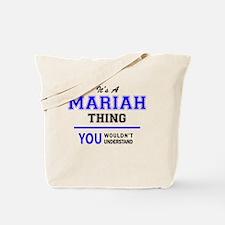 Funny Mariah Tote Bag