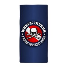 Wreck Divers (Different Breed) Beach Towel