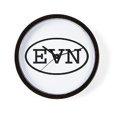 EVN Oval Wall Clock