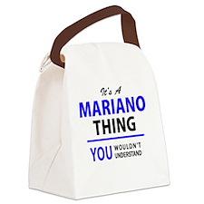 Unique Mariano Canvas Lunch Bag