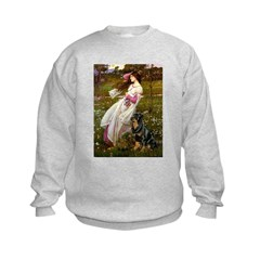 Windflowers / Rottweiler Sweatshirt