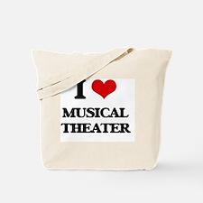 Cute Musical lyrics Tote Bag