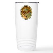 Maple Leaf Dragon Travel Coffee Mug