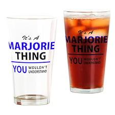 Funny Marjorie Drinking Glass