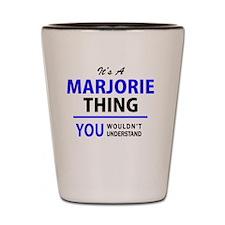 Funny Marjorie Shot Glass