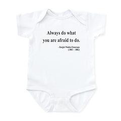Ralph Waldo Emerson 12 Infant Bodysuit