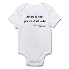 Ralph Waldo Emerson 12 Infant Bodysuit