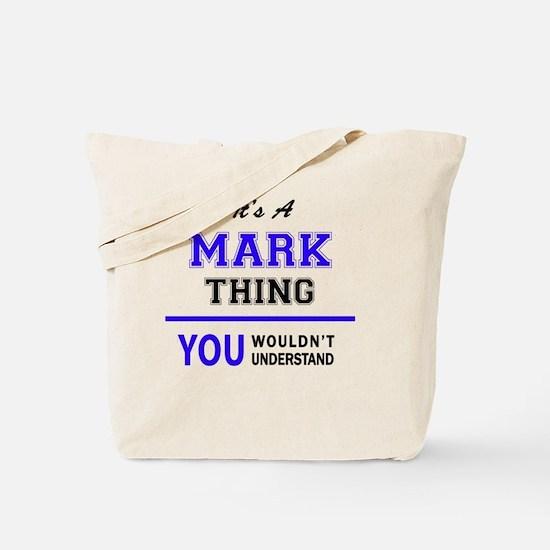 Cute Mark Tote Bag