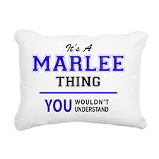Cute Marlee Rectangular Canvas Pillow