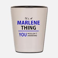 Cute Marlene Shot Glass