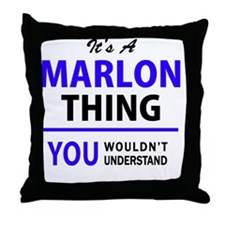 Unique Marlon Throw Pillow